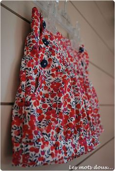 Léon Papillon et Mandarine Craft Work, Summer Dresses, Sewing, Liberty, Inspiration, Crafts, Fashion, Summer Time, Sewing Ideas