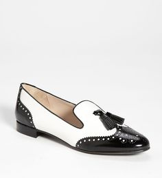Prada Brogue Smoking Slipper.