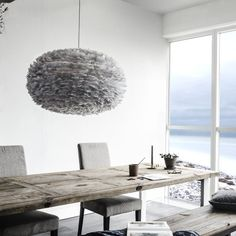 Shop Eos Feather Lampshade Light Grey Pendant Light by Vita Copenhagen. Pendants, Floor and Table Lamps are a simple way to enhance your home or office decor. Eos, Glass Pendant Light, Pendant Lamp, Ceiling Lamp Shades, Ceiling Lights, Feather Lamp, Design Light, White Canopy, Canopy Lights