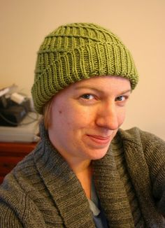 "Spiral Ribbed Hat   ""Because normal ribbed hats are boring.""             **UPDATE -- I am so amazed and honored that SO MANY people have co..."
