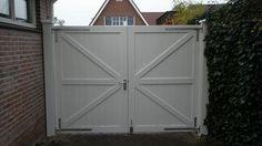Hekwerk poort - houtenpoorten.info