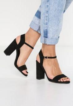 New Look - STRIKE - Sandalen met hoge hak - black