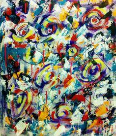 """For Sale: Ridiculous Anger by Penelope Przekop   $300   20""""w 25""""h   Original Art   https://www.vangoart.co/penelopeprzekop/ridiculous-anger @VangoArt"""