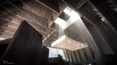 Gallery - A Rendered Recreation of Marcel Breuer's St. John's Abbey Church - 4