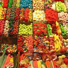 Las Ramblas La Boqueria market in Barcelona