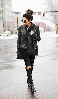 Hellofashionblog leather combo