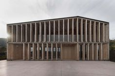 The project that won the invited competition open to designers under 35 gave birth to the new social house in Caltron in the small town of Cles. This place i...