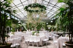 Overwhelmingly Lush Michigan Wedding at the Planterra Conservatory