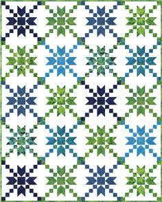 Stepping Stones Quilt Block Tutorial from Sew Fresh Quilts Star Quilt Blocks, Star Quilt Patterns, Christmas Quilt Patterns, Star Quilts, Scrappy Quilts, Amish Quilts, Quilting Tutorials, Quilting Projects, Quilting Designs