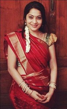 Deep Red Nine Yard Madisar Saree