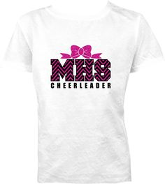 CUSTOM Cheerleader Cheerleading CUSTOM Cheerleader by Just4MeTees, $26.95