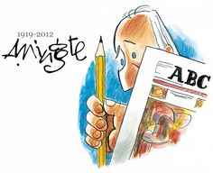 RIP the great Spanish humorist and academic Antonio Mingote...
