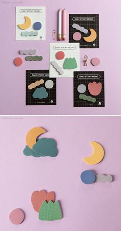 size : - package : 91 x 105 mm - sticky note : 40 x 25 x 50 x 15 mm . Korean School Supplies, Cute Office Supplies, Cat Supplies, Korean Stationery, Stationery Items, Cute Stationary, Bullet Journal School, Sticky Notes, Marker