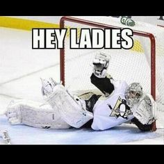 As a goalie I find this hilarious!! Except I was doing it for the men! Lol