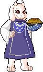 Toriel 1 by That-Cake.deviantart.com on @DeviantArt