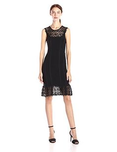 Nanette Lepore Women's Olivia Sleeveless Lace Gown [CUTEST]