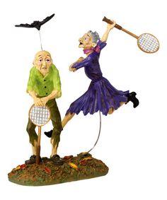 Bat-Minton Figurine #zulily #zulilyfinds