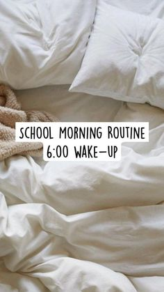 School Routine For Teens, Morning Routine School, Healthy Morning Routine, School Routines, Teen Life Hacks, Life Hacks For School, Useful Life Hacks, School Tips, Evening Routine