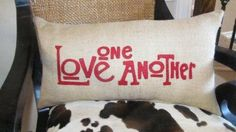 Love One Another by agraceunlimited on Etsy, $65.00