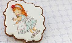Hand Painted Cakes, Princess Zelda, Disney Princess, Disney Characters, Fictional Characters, Painting, Paint Cake, Cookies, Twitter