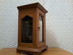 Shadow Box, Armoire, Display, Krishna, Furniture, Vintage, Home Decor, Wood Art, Antiquities