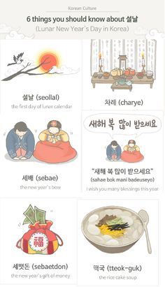 Learn all about Lunar New Year celebrations in Korea!