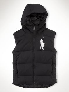 Ralph Lauren Man Down Vest Hooded White Big Pony Blue 1 - Ralph lauren vest - Zapatos de Mujer Polo Ralph Lauren Vest, Ralph Laurent, Down Vest, Men Online, Swagg, Menswear, Mens Fashion, Collection, Clothes