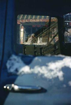 Saul Leiter: A New York street scene, c.1949.