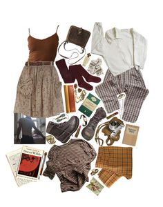 """""""dead poets society"""" by berniee ❤ liked on Polyvore featuring OTTO, Dr. Martens, River Island, Table Art, See by Chloé, Cartier, BOBBY and Cameo"""