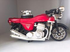 Vintage Gas Lighter 750F Limited Wonder Gals Marusho Lilac Model MotorBike Style #WonderGals750FLimited