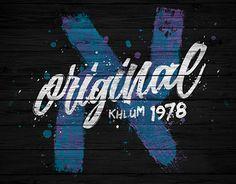"Check out new work on my @Behance portfolio: ""KHLUM original 1978""…"
