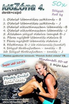Boszorkánykonyha Thigh Exercises, At Home Workouts, Thighs, Health Fitness, Challenges, Weight Loss, Gym, Motivation, Plank