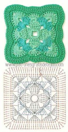 Die 197 Besten Bilder Von Häkeln Crochet Blocks Crochet Patterns