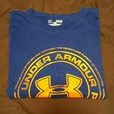 Under armour mens tshirt Under armour heat gear tshirt. Gently worn but still in good condition. Under Armour Tops Tees - Short Sleeve