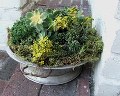Or maybe use a collander? Great idea for lettuce / salad bowls
