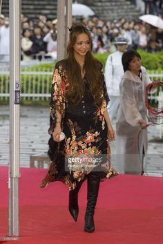 Namie Amuro during MTV Video Music Awards Japan 2006 - Red Carpet at Yoyogi National Stadium in Tokyo, Japan.