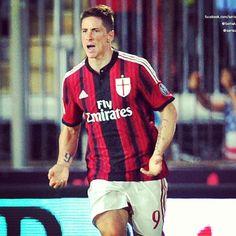 #fernandotorres #seriea #primogoal #campione #Milan