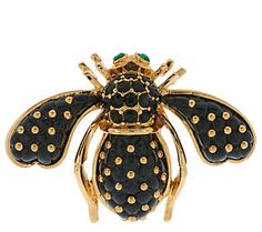 Joan Rivers Quilted Bee Pin(44)