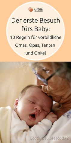 Erster Babybesuch: 10 Tipps für Freunde und Verwandte Out of sheer delight, enthusiastic baby visitors often forget what parents and children really need now. 10 tips for exemplary aunts, friends, grandmas, grandpas and co. First Baby, Mom And Baby, Baby Kids, Baby Massage, Co Parenting, Pregnant Mom, Baby Outfits Newborn, Happy Baby, Kids Health