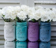 Hey, I found this really awesome Etsy listing at http://www.etsy.com/listing/150189995/painted-distressed-mason-jar-spring