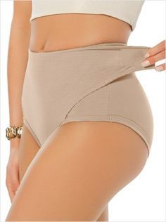 87b8494ed8c49 Firm Compression Postpartum Panty with Adjustable Belly Wrap