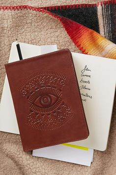 Embossed Leather Journal - Urban Outfitters