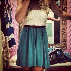 Lace & Blue