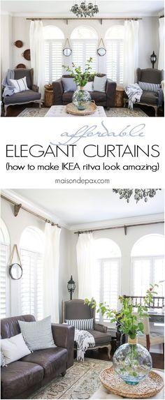 38 Best Elegant Curtains Images Curtains Elegant