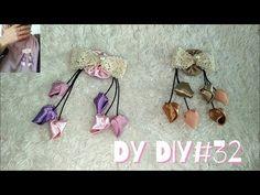 DY DIY#32 BROS KUNCUP BUNGA DARI KAIN PERCA/RECYCLE - YouTube