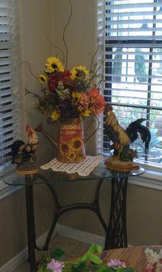 Sunflower arrangment