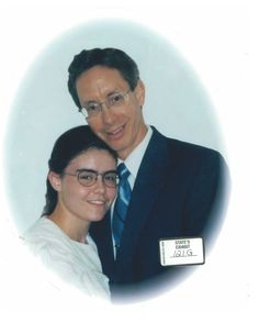 "In the FLDS, they like to keep marriage in the family. Here we have the ""wedding"" of Warren Steed Jeffs and his twentieth ""wife""/cousin, Clea Maureen Steed. Clea Maureen was 17 when forced to become Warren's ""wife""."