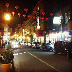 China Town. San Francisco !  Been here!  Good food