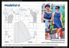ModelistA: A3 NUMo 0200 DRESS