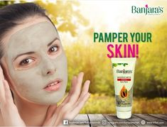 93a0935fb Give your face the star treatment at your own home with the radiant  Banjara's Multani Mitti and Papaya Face Pack! Feel refreshed this morning!